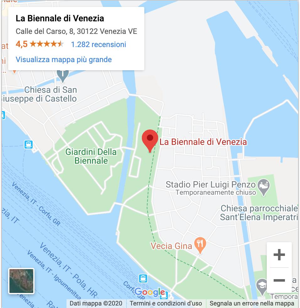 how to get to la biennale venezia